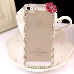 diamants lèvres sexy dos de cas de couverture pour iphone 5/5 ans (de couleurs assorties)