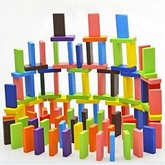 barnas tre pedagogiske leker farge domino (120 stykker)