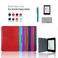 Coco fun® Ultra Slim pu pokrowiec z folii i rysika do Amazon Kindle Paperwhite (8 różne kolory)