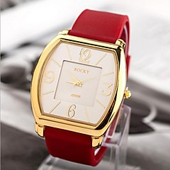 Women's Fashion Golden Shell Silicone Leisure Watches Cool Watches Unique Watches