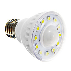 3W E26/E27 LED Spotlight A60(A19) 12 SMD 5050 160-180 lm Warm White / Cool White Sensor AC 220-240 V