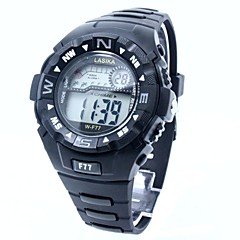 Men's Sporty  Digital Silicone Band Wrist Watch Cool Watch Unique Watch