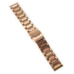 22mm High Quality Rose Gold Precise Stainless Steel Watchband