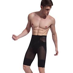 mandlig butt-løft Stovepipe forme slanke krop forme bukser taljen cincher nye ankomst bodie bomuld sort ny025
