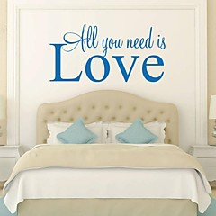 jiubai ™ liefde home decoratie muursticker muurtattoo