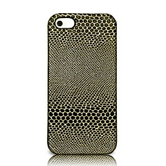 LES SMORE® Python PU Leather Phone Case for iPhone5/5S