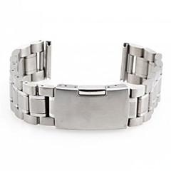 Unisex's Steel Watch Band Strap 170MMx20MMx3MM(Silver)