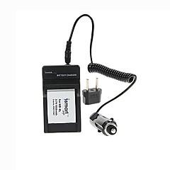 ismartdigi-peuvent NB-6L (1000mah, 3.7v) batterie de l'appareil + bouchon + ue chargeur de voiture pour canon ixus85 95 105 200 210 300 310 320