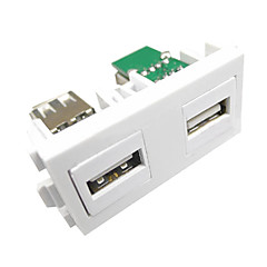 LY-Link LY-014 Female to Female Two USB Module Panel