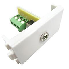 LY004 3.5mm Earphone Free Welding Socket AV Panel