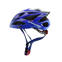 Basecamp® BC-007 New Arrival Upgrade High Quality Integrally Molded  Ultralight Adjustable Bike Helmet Blue+White+Silver
