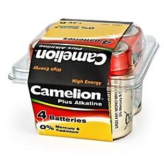Camelion Plus Alkaline D Size Battery in Plastic Box of 4 PCS