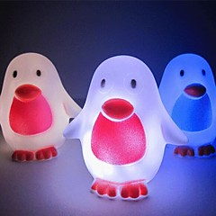 Coway Creative Penguin Colorful LED Nightlight