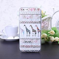 Cartoon Giraffe Pattern TPU Soft Case for iPhone 6/6S