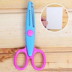 Scrapbooking DIY Photo Lace Scissors(Blue)