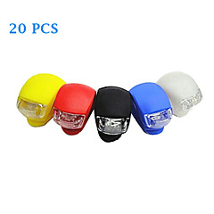 20PCS Silica Gel LED Cycling Frog Lamp(Assorted Color)