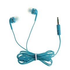 3,5 mm para auriculares jack in-ear para el iphone / ipod / HTC / Samsung (110cm)