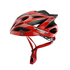basecamp® bc-007 uudet toimijat päivittää laadukkaita muovattu ultrakevyt säädettävä pyöräilykypärä, punainen + musta + hopea