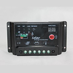 cargador solar del panel del regulador batería del controlador 12v 24v30a