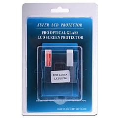 vidrio óptico profesional Protector de pantalla especial para la cámara réflex digital Lumix LX3 / LUX4