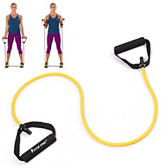 KYLIN SPORT™ Exercise Bands/resistance bands, Yellow Tube Elastic String Sliming Fitness Yoga Resistance Bands Fitness