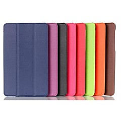 8 Inch Triple Folding Pattern High Quality PU Leathe Case  for Acer Iconia A1-840 Tablet (Assorted Colors)