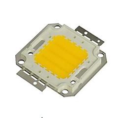 30W 2700lm 3000K varm hvid LED-chip (30-35v)