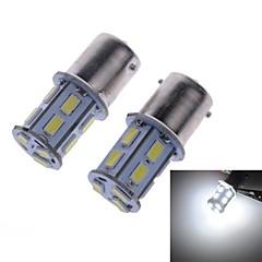 1156 6.5W 260lm 13-SMD 5730 levou luz de direção do carro / luz de estacionamento luz branca / travão - (12V / 2 peças)