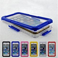 Για Θήκη iPhone 6 / Θήκη iPhone 6 Plus Αδιάβροχη tok Πλήρης κάλυψη tok Μονόχρωμη Σκληρή PC iPhone 6s Plus/6 Plus / iPhone 6s/6