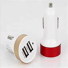 allume-cigare double USB adaptateur pour iPhone / iPad et d'autres (couleurs assorties)
