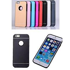 For iPhone 6 etui iPhone 6 Plus etui Belægning Etui Bagcover Etui Helfarve Hårdt Aluminium for iPhone 6s Plus/6 Plus iPhone 6s/6