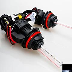 35W 12V  9004 10000K Xenon Hi/Lo Beam HID Replacement Bulbs For Headlight