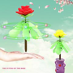 rc vol en hélicoptère fleur rose volant sens rose cadeau pour petite amie apprentissage Éducation
