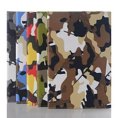 Camouflage Pattern PU Leather Case  for iPad mini 3, iPad mini 2, iPad mini/mini