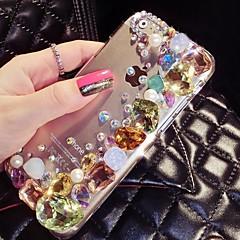 a nova cor brilhante com diamante tampa traseira dura para o iPhone 5 / 5s (cores sortidas)