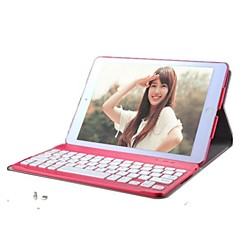 couleur unie pu cas de la tablette clavier bluetooth 360 rotation pour Mini iPad 1/2/3 (couleurs assorties)