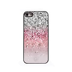 glinsterende poeder design aluminium harde case voor iPhone 4 / 4s