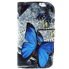 Beautiful Picture  Pattern PU Leather Flip-open Full Body Case with Stand for Samsung Galaxy S3 Mini I8190N