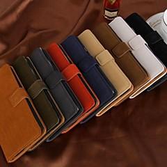 สไตล์กระเป๋าแฟชั่นหนัง PU กรณีที่ร่างกายเต็มไปด้วยช่องเสียบการ์ดสำหรับ Samsung Galaxy i9600 s5 (คละสี)