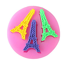 Paris Tower Baking Fondant Cake Choclate Candy Mold,L7cm*W6.9cm*H0.7cm SM-256