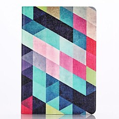 The Diamond Pattern PU Leather Full Body Case with Stand  for iPad Mini 1/2/3