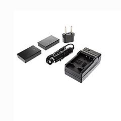 BLS-1 ismartdigi-olympus x2 (1500mAh, 7.4V) batterie de l'appareil + EU Plug + chargeur de voiture pour BLS5 EPL1 2 3 ep2 3 e400 420 450 510 620