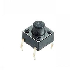 4-pin mikrokapcsoló tapintható nyomógomb kapcsoló DIY 6x6x5mm (100 db)