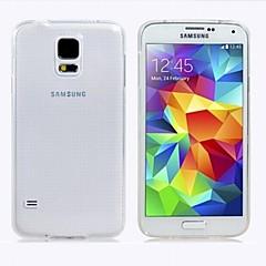 pu transparent mjuk tillbaka fallet för Samsung Galaxy S4 i9500