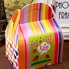 12PCS 귀여운 아기 샤워 사탕 상자 선물 포장 생일 파티 호의
