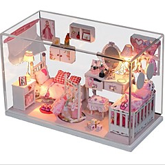 GDS prinsessehus med lydkontrollert lys