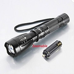 LT-83928  5Mode   CREE XM-L T6   LED Flashlight  (2000LM.1X18650.Black)