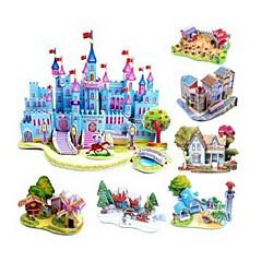 Kids Educational Toys DIY 3D Jigsaw Puzzles For Children Adults Castle Puzzle