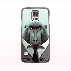 caixa do telefone personalizado - babuíno caso design de metal para Samsung Galaxy mini-s5