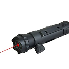 LT-016 pointeur laser rouge (5mW, 650nm, 1x16340, noir)
